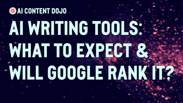 AI Writing Tools - What to Expect